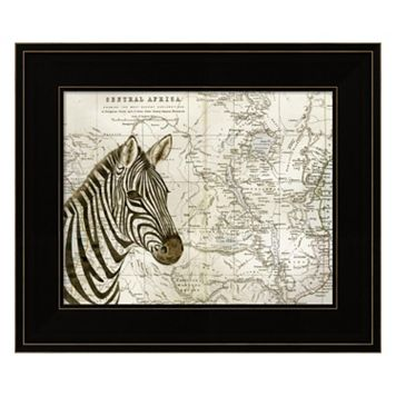 Burchell's Zebra Framed Wall Art