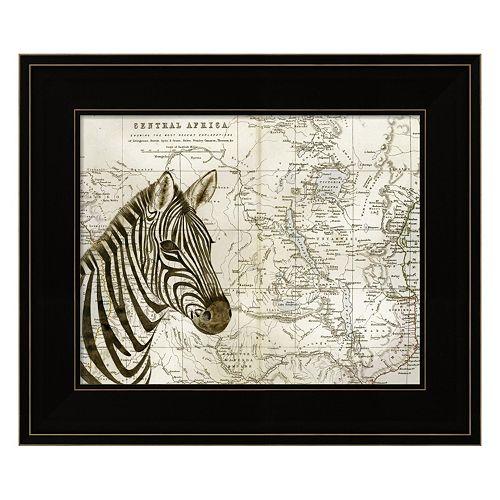 Burchell's Zebra Framed Wall Art