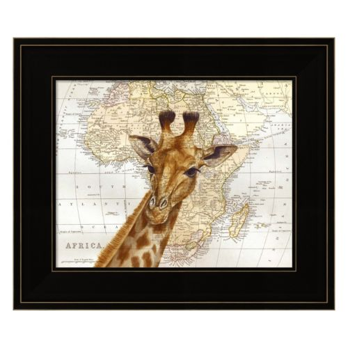 Out Of Africa Framed Wall Art