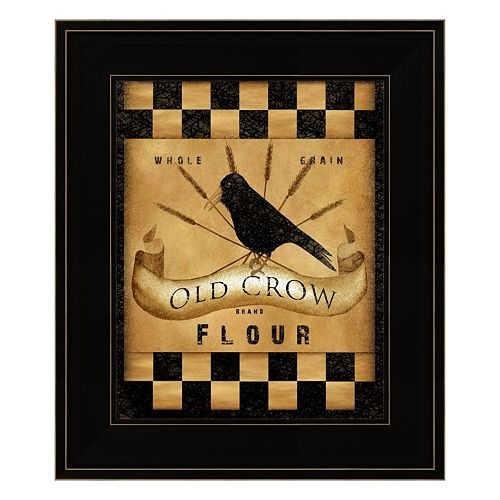 Old Crow Flour Framed Wall Art