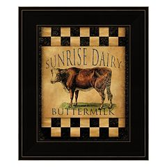 Sunrise Dairy Framed Wall Art