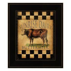 Sunrise Dairy Framed Wall Art