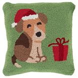 Decor 140 Season Greeting Polyester Throw Pillow