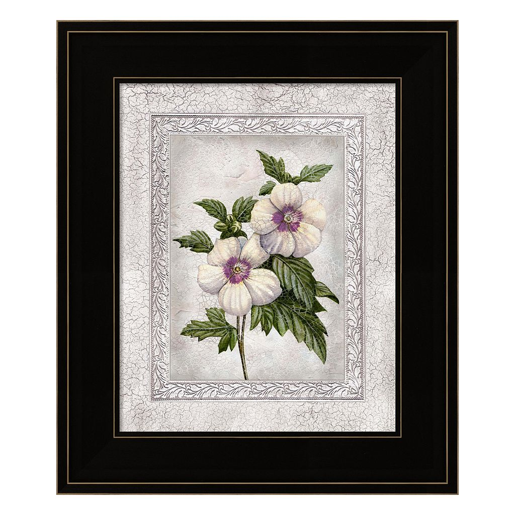 Floral I Framed Wall Art