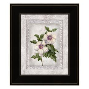 Floral I Framed Wall Art