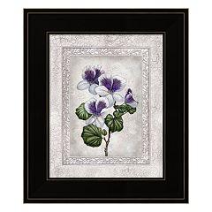 Floral II Framed Wall Art