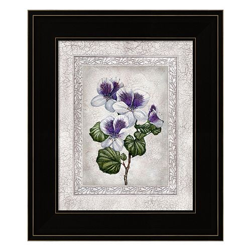 Floral II Framed Wall Art
