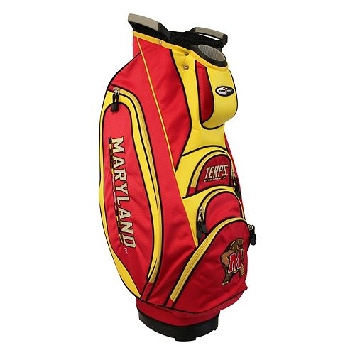 Team Golf Maryland Terrapins Victory Golf Cart Bag