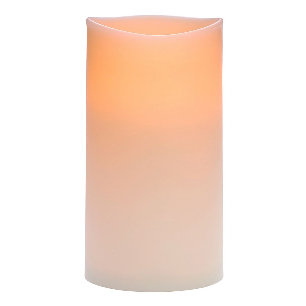 Matchless Candle Co. Outdoor 3'' x 6'' Unscented Flameless LED Candle