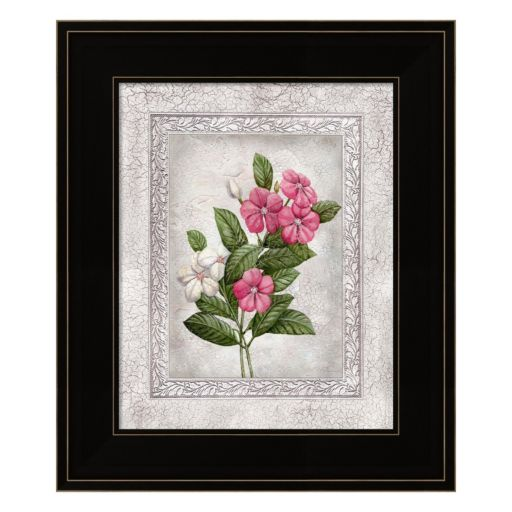 Floral III Framed Wall Art