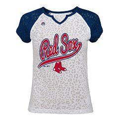Girls 7-16 Majestic Boston Red Sox Retro Win Tee
