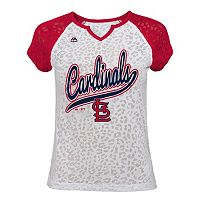 Girls 7-16 Majestic St. Louis Cardinals Retro Win Tee