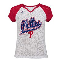 Girls 7-16 Majestic Philadelphia Phillies Retro Win Tee