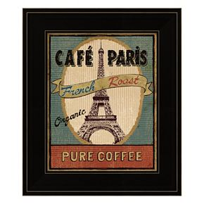 Coffee Blend Label II Framed Wall Art