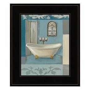 Antique Bath I Framed Wall Art