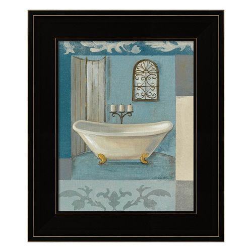 Antique Bath I Framed Wall Art