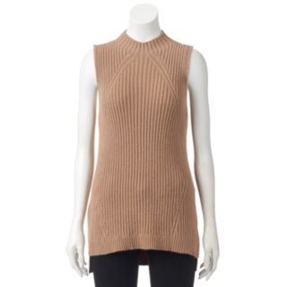Women's ELLE? Sleeveless Ribbed Sweater