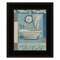 Antique Bath II Framed Wall Art
