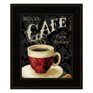 Today's Coffee I Framed Wall Art
