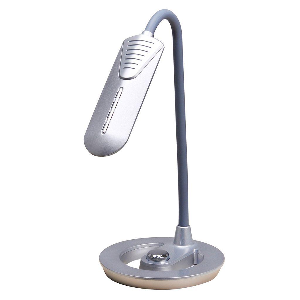 Catalina Lighting Tensor Adjustable Dimmer LED Desk Lamp