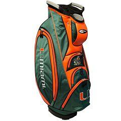 Team Golf Miami Hurricanes Victory Golf Cart Bag