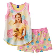 Disney's Beauty & The Beast Belle Girls 4-10 Bold Pajama Set