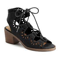 SO® Furl Women's Block Heel Sandals