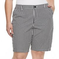 Plus Size Croft & Barrow® Essential Twill Bermuda Shorts