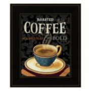 Today's Coffee IV Framed Wall Art
