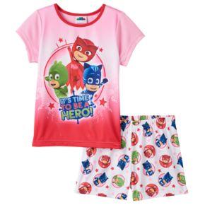 Girls 4-8 PJ Masks Catboy, Owlette & Gekko Cape Pajama Set
