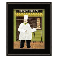 Chef's Specialties II Framed Wall Art