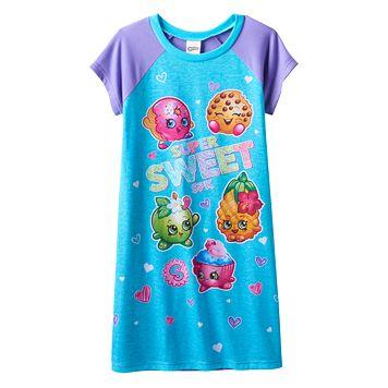 Girls 4-12 Shopkins Pineapple Crush, Apple Blossom & Cupcake Chic