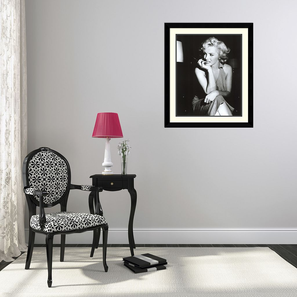 Amanti Art Marilyn Monroe, Hollywood 1952 Framed Wall Art