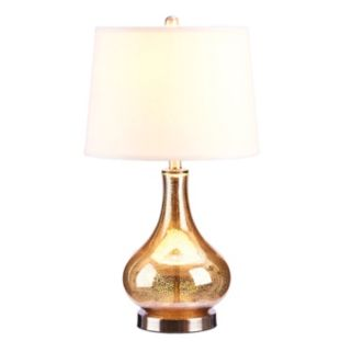 Catalina Lighting Mercury Glass Gourd Table Lamp