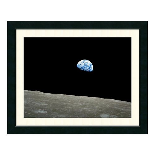 Amanti Art Earthrise, Apollo 8, December 24, 1968 Framed Wall Art