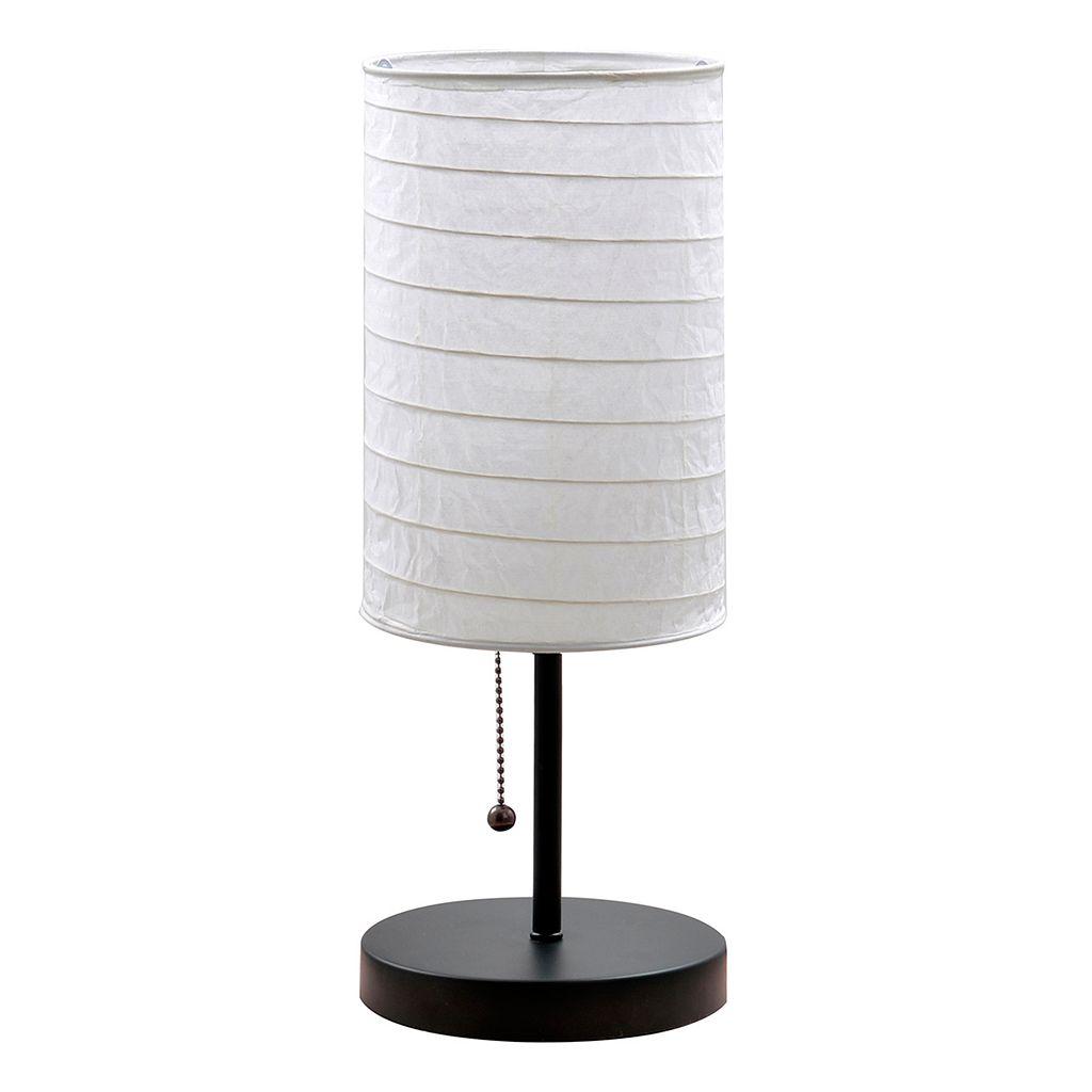Catalina Lighting Paper Shade Table Lamp