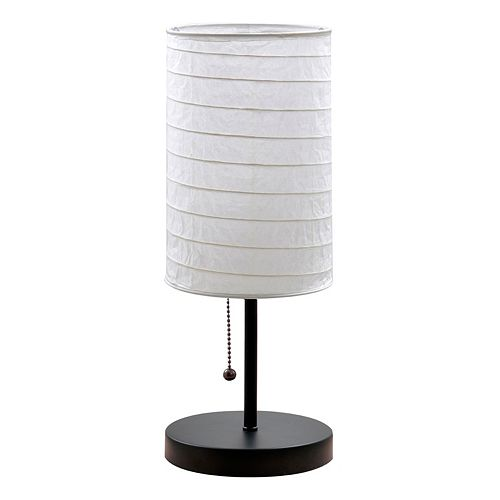 Catalina Lighting Paper Shade Table Lamp
