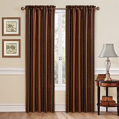 Traditions by Waverly Stripe Ensemble Window Curtain