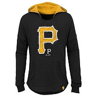Girls 7-16 Majestic Pittsburgh PiratesThe Closer Pullover Hoodie