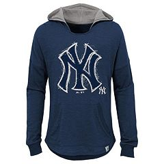 Girls 7-16 Majestic New York YankeesThe Closer Pullover Hoodie