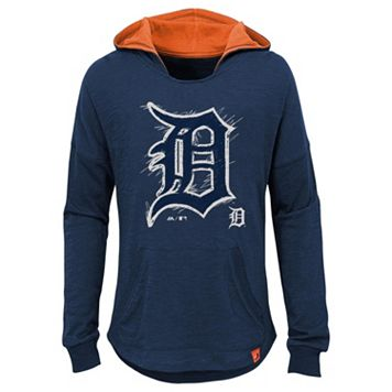 Girls 7-16 Majestic Detroit TigersThe Closer Pullover Hoodie