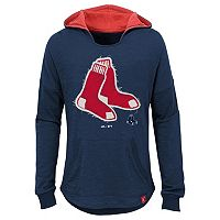 Girls 7-16 Majestic Boston Red SoxThe Closer Pullover Hoodie