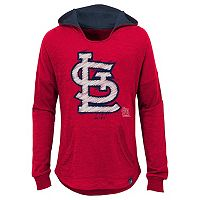 Girls 7-16 Majestic St. Louis CardinalsThe Closer Pullover Hoodie