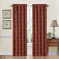 Traditions by Waverly Navarra Window Curtain