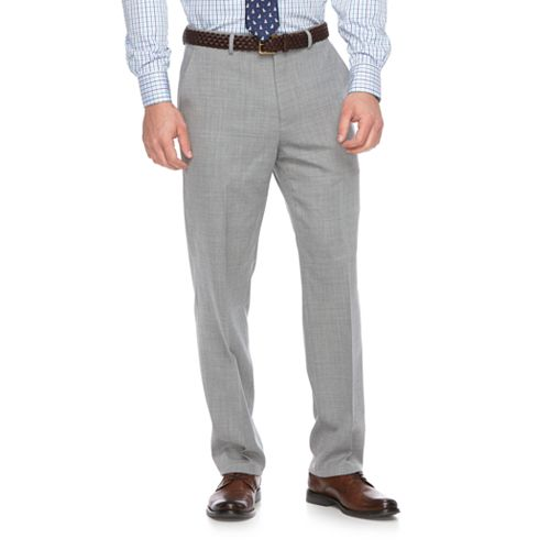 Men's Chaps Classic-Fit Wool-Blend Stretch Suit Pants