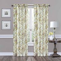 Traditions by Waverly Forever Yours Floral Window Curtain