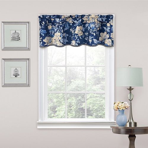 Traditions by Waverly Forever Yours Floral Window Valance