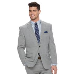 Men's Chaps Classic-Fit Wool-Blend Stretch Suit Coat