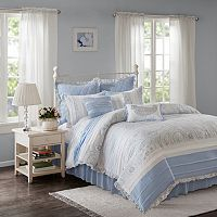 Madison Park 9 pc Hilarie Duvet Cover Set