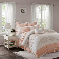 Madison Park 9-piece Hilarie Duvet Cover Set